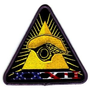 Simbologia Illuminati Explícita em Lançamento de Satélite Espião  Americano