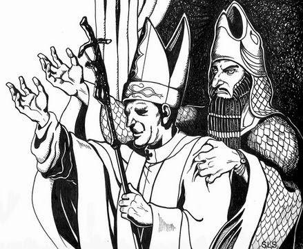 Resultado de imagem para sacerdotes do deus dagon com cabeça de peixe na cabeça